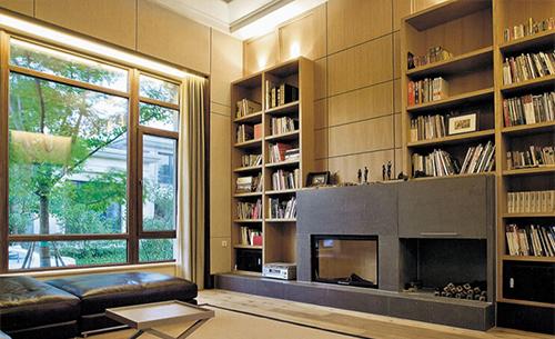 书房平开窗