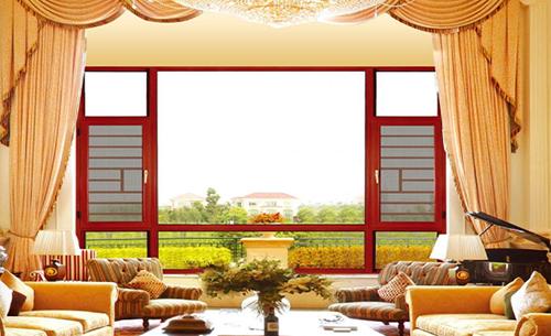 客厅窗纱一体窗