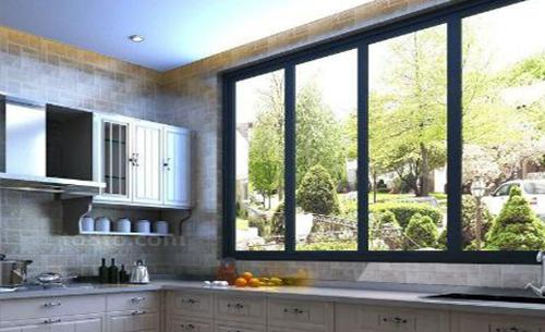 厨房平开窗