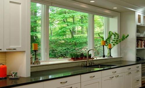 厨房推拉窗